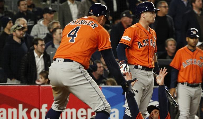 Altuve y los Astros: Astros igualan a los Yanquis por el banderin de la Liga Americana