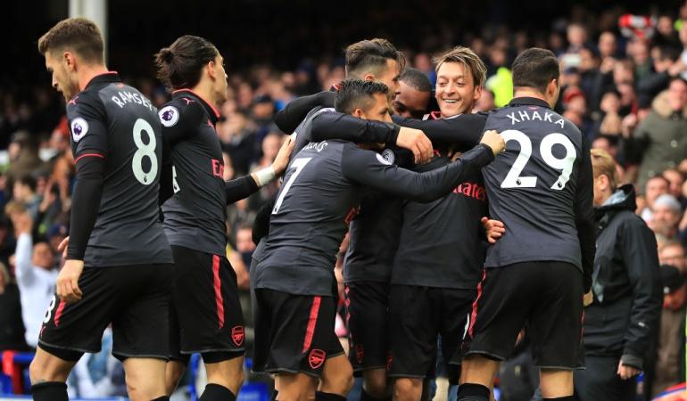 Everton 2-5 Arsenal Liga Premier: Paliza del Arsenal al Everton en el Goodison Park