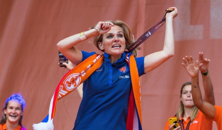 Sarina Wiegman The Best: Sarina Wiegman, premio 'The Best' a mejor entrenadora