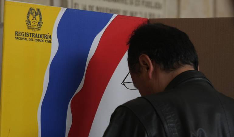 Elecciones presidenciales: Hasta el próximo 11 de enero en las registradurías podrá inscribir su cédula
