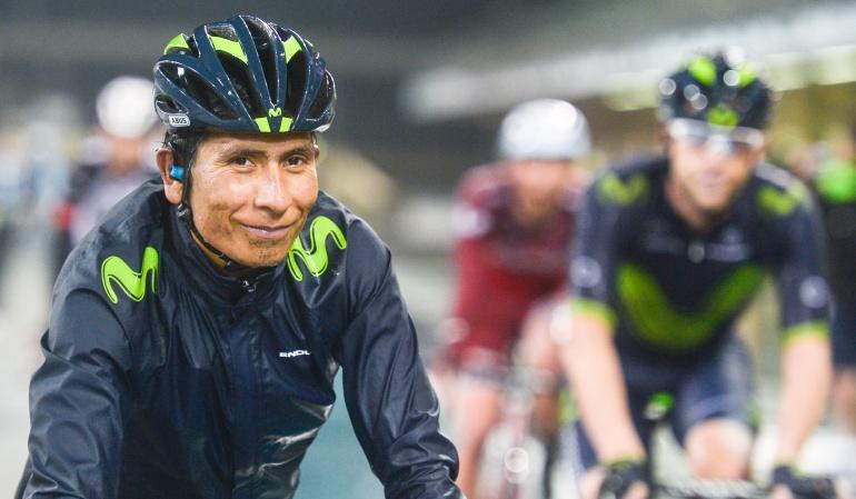 Nairo Quintana Mikel Landa: Soy líder del equipo y Landa es bien recibido: Nairo Quintana