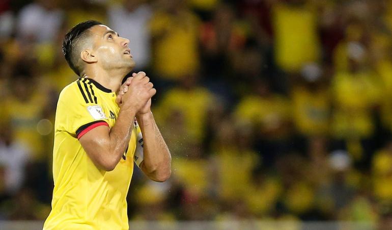 Falcao García no jugará este sábado con el Mónaco por lesión muscular
