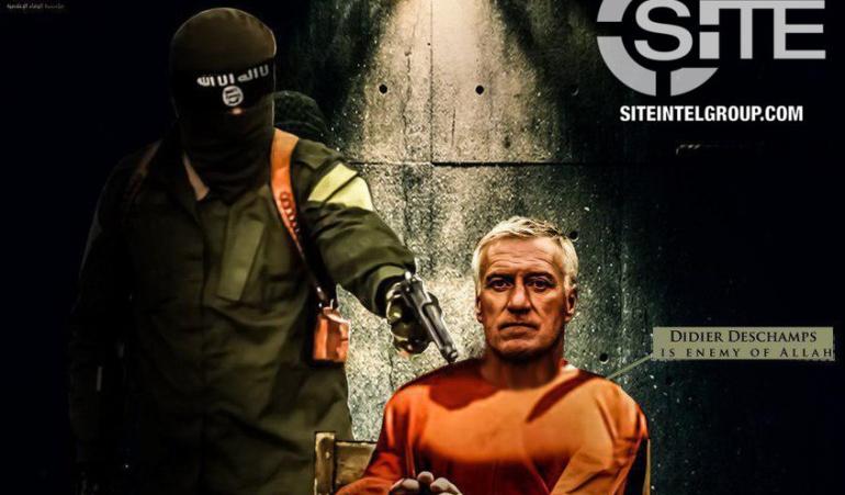 Didier Deschamps: ISIS continúa amenazando al fútbol: Didier Deschamps, su nueva víctima