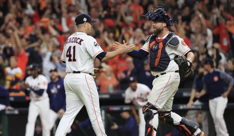Serie Mundial Mundial de béisbol: Astros se ponen en ventaja y gana 2-1 la Serie Mundial