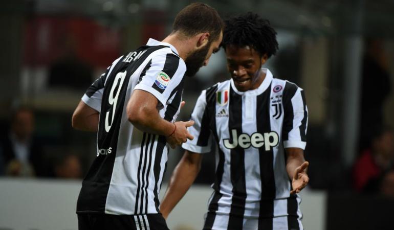 Higuaín Milan 0-2 Juventus: Un doblete de Higuaín le entrega el clásico a la Juventus sobre el Milán
