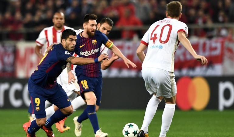 Barcelona Champions League: Barcelona no pudo romper el cerrojo defensivo del Olympiakos