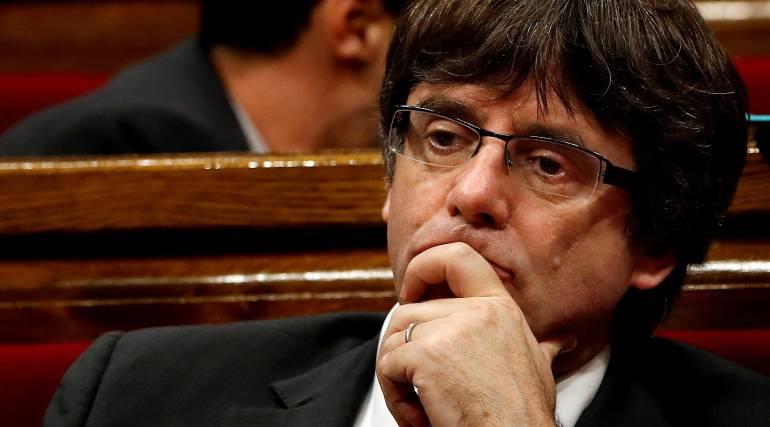 Puigdemont se refugia en Bélgica después de haber sido cesado