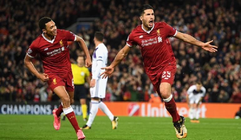 Liga de Campeones de Europa.: Liverpool gana en Champions y mantiene el liderato de su grupo