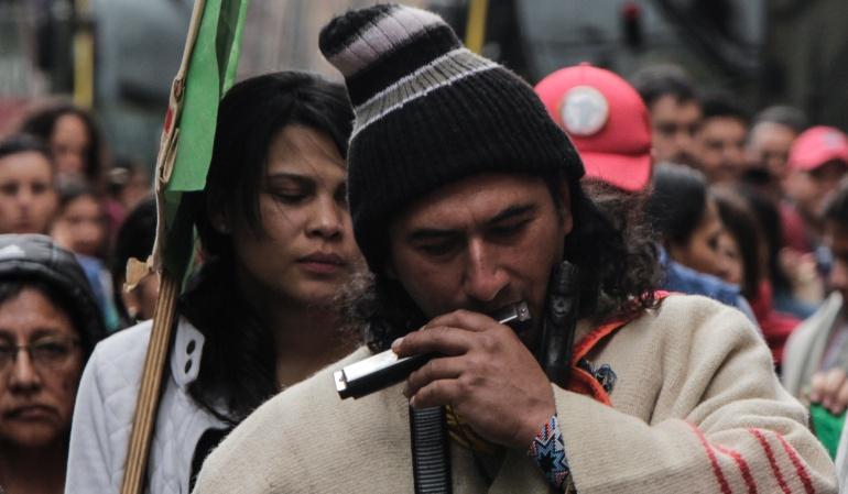 Mesa diálogo Gobierno Indígenas: Indígenas piden a la Procuraduría intermediar para instalación de mesa de diálogo con el Gobierno