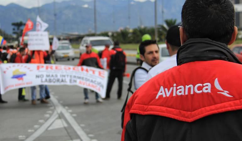 Huelga pilotos Avianca: Es irreversible, la huelga de pilotos de Acdac llegará a los 60 días
