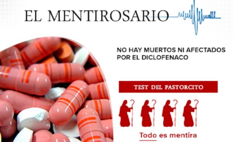 Mentirosario: No hay muertos ni afectados por el diclofenaco
