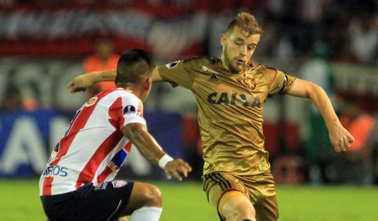 Junior Vs. Sport Recife: En discreto partido Junior empata y avanza a la semifinal