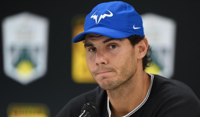 Rafael Nadal: Nadal se retiró del Masters 1000 de París tras una dolencia en su rodilla derecha