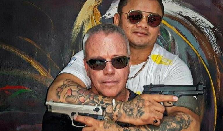 El Chino se sacó una foto polémica con un asesino narco