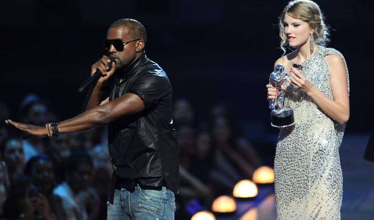 "Taylor Swift Kanye West y Kim Kardashian: Conozca la ""guerra"" musical entre Taylor Swift y Kanye West"