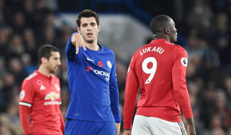 Chelsea Manchester United: Morata hunde al Manchester United y deja vía libre al City