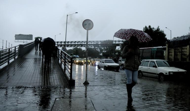 Temporada de lluvias: Las lluvias irán hasta mediados de diciembre: Ideam