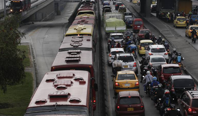 Resultado de imagen para waze trafico colombia
