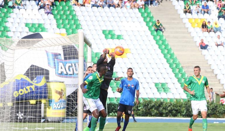 Deportes Quindio: Deportes Quindío sancionado por violencia de sus hinchas