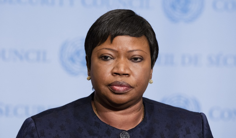 Fiscal de la Corte Penal Internacional, Fatou Bensouda.