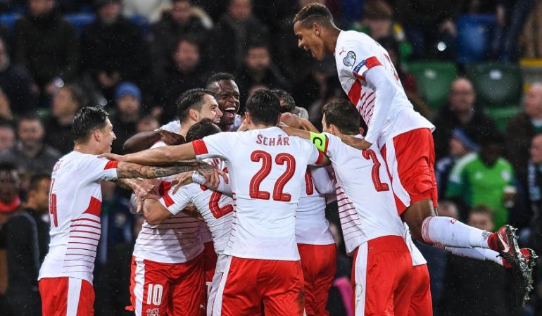 Irlanda del Norte 0-1 Suiza: Rodríguez adelanta a Suiza en Irlanda del Norte y los acerca a Rusia 2018