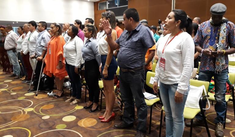 Mesa Nacional de Víctimas: 58 líderes conforman la nueva Mesa Nacional de Víctimas