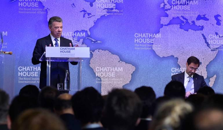 """Santos teme que Venezuela sea amenaza para el proceso de paz en Colombia: """"Mi peor pesadilla es Venezuela"""": Santos"""