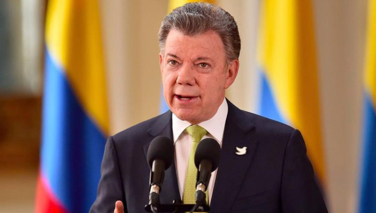 'Que las Farc entren al Congreso es un compromiso del Estado': Santos