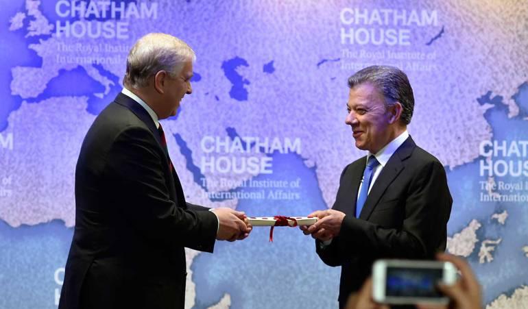 Santos defiende la participación política de las FARC: Santos defiende la participación en política de las Farc