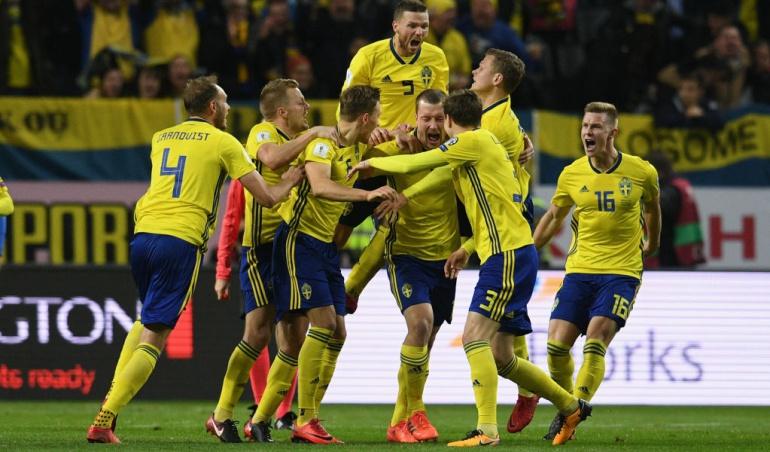 Suecia 1-0 Italia Rusia 2018: Suecia sorprende a Italia y lo deja al borde de la eliminación de Rusia 2018
