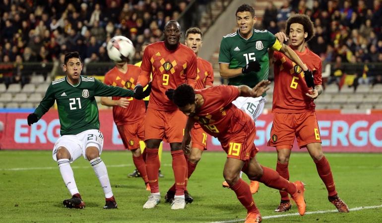 México Vs Belgica: México y Bélgica igualaron en un amistoso lleno de goles