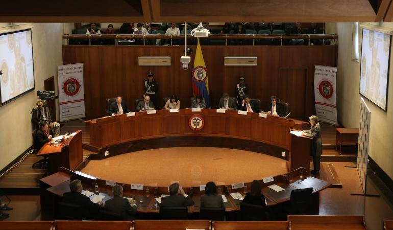 JEP: Hasta el martes la Corte Constitucional decidiría sobre la JEP