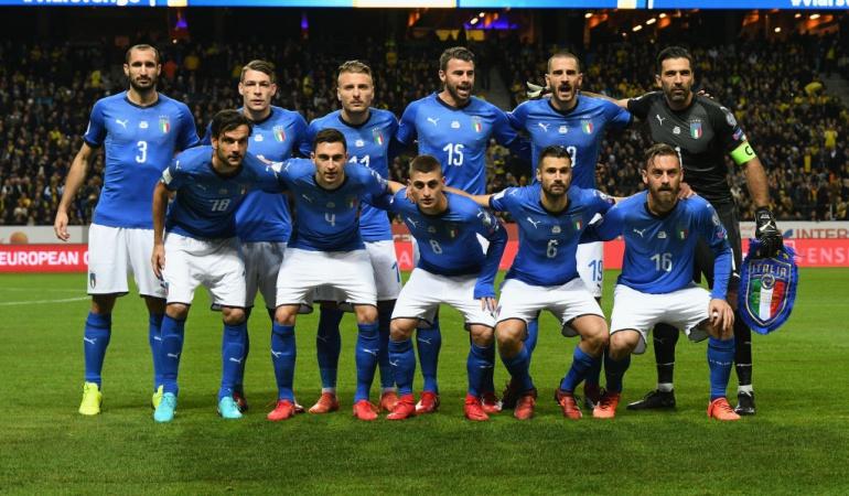 Italia Suecia repechaje Rusia 2018: Italia se cita con la historia obligado a remontar ante Suecia para estar en Rusia
