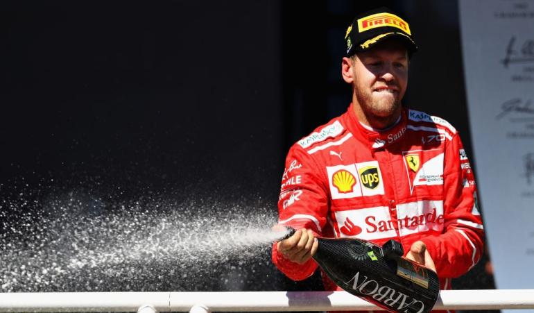 Vettel gana en Interlagos y queda a un paso del subcampeonato