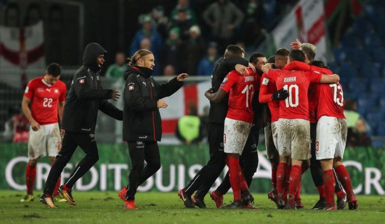 Suiza clasificado a Rusia 2018 Ricardo Rodríguez: Suiza clasifica al Mundial con una actuación heroica de Ricardo Rodríguez
