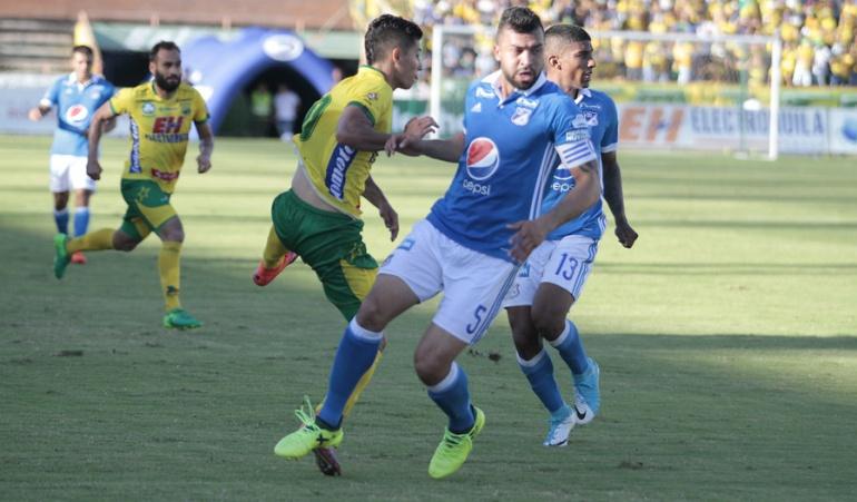 Huila 0-0 Millonarios Liga Águila: Millonarios empata con Huila y queda a un punto de asegurar el cuarto puesto