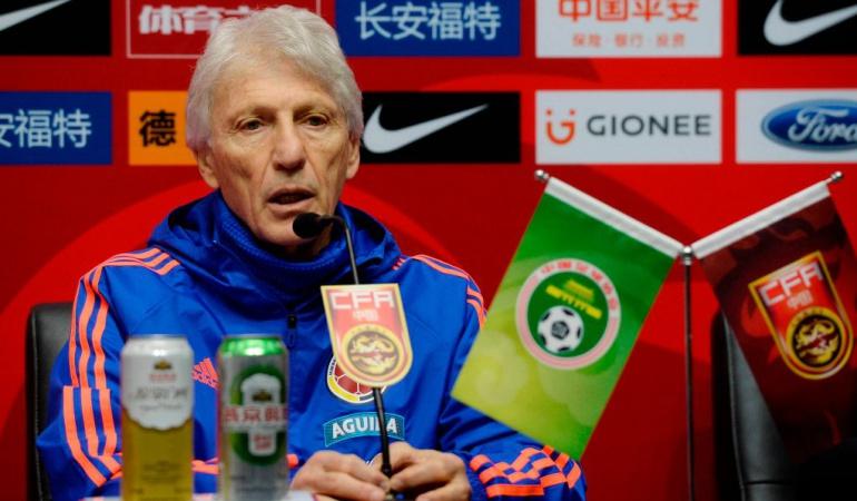 José Pékerman jugadores minutos: Estamos en una etapa de elección, los jugadores deben aprovechar: Pékerman