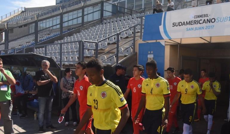 Sudamericano Sub-15 seleccion colombia: Colombia cae ante Chile y se despide del Sudamericano Sub-15