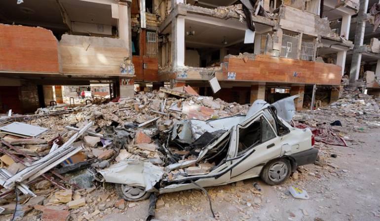 Terremoto en Irán: Aumentan a 530 los fallecidos en el terremoto en Irán