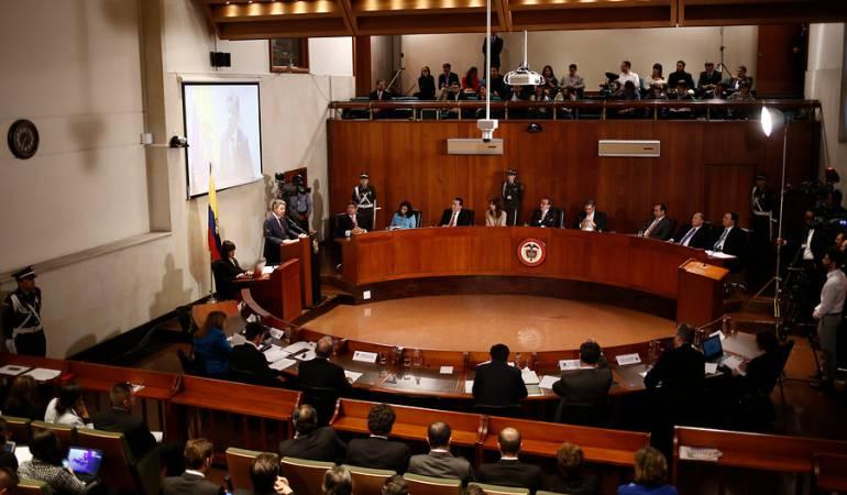 Corte Constitucional JEP: Hoy la Corte Constitucional definiría si avala o no la Jurisdicción Especial para la Paz