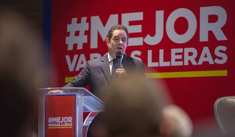 Vargas Lleras Elecciones presidenciales: Vargas Lleras presenta su plan económico