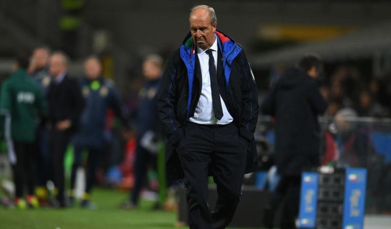 Italai destituye Gian Piero Ventura Rusia 2018: Italia destituyó a Gian Piero Ventura tras la eliminación del Mundial de Rusia 2018