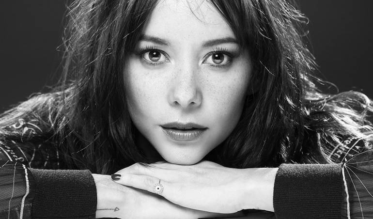 Angélica Blandón, actriz colombiana.