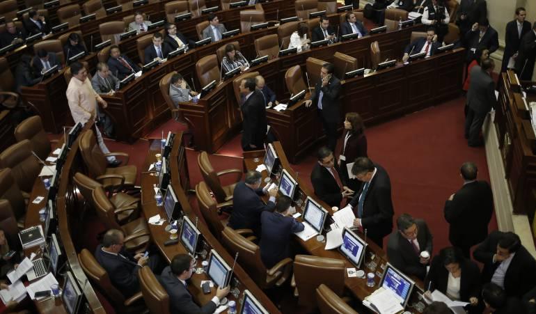 Sesion del senado sobre la JEP se aplaza por falta de Quorum: Estos son los congresistas que no quieren votar la JEP