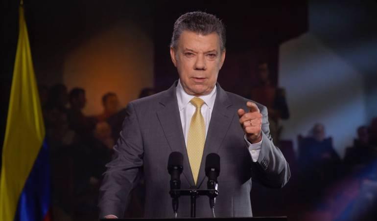 Palabras de Santos para pedir aprobación de la JEP: La paz de Colombia está ahora en la cancha del Congreso: Santos