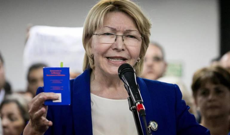 Luisa Ortega Nicolás Maduro Corte Penal Internacional Venezuela Crisis Política: Luisa Ortega denunció a Nicolás Maduro ante la Corte Penal Internacional