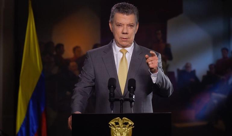 JEP: Santos le pide a la Cámara aprobar último debate de la JEP
