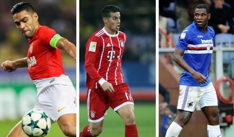 Programación jugadores de la Selección Colombia: Partidos y resultados de los jugadores de Selección en sus clubes