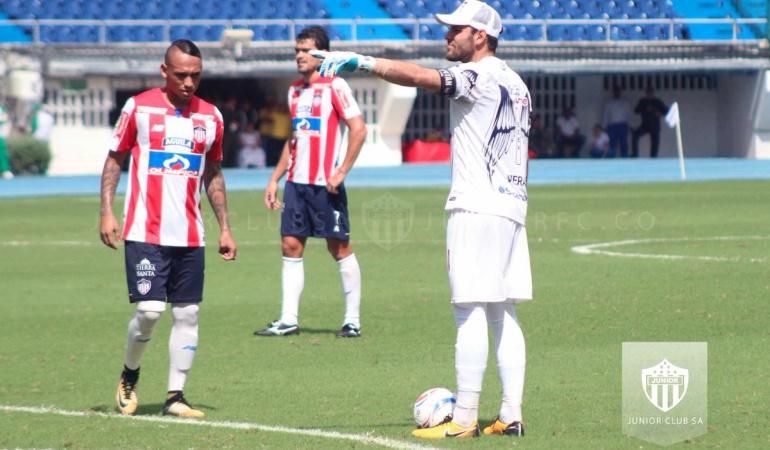 Junior Río de Janeiro Jonathan Ávila: Junior viaja a Río con la baja por lesión del defensor Jonathan Ávila