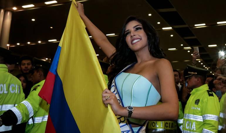 Miss Universo Reina de Colombia Laura González: La Señorita Colombia ya presentó su traje de Fantasía para Miss Universo 2017